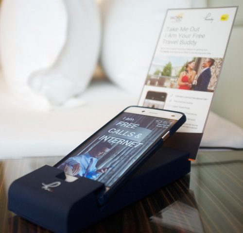 Handy Smartphone in Room Penang Butterworth Ixora Hotel Prai